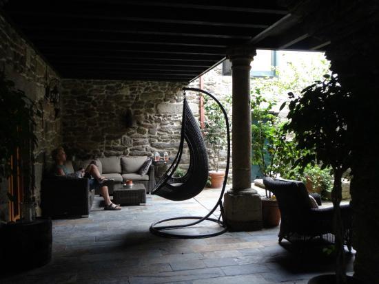 Casa Grande de Cristosende: お洒落な共有アウトドアスペース