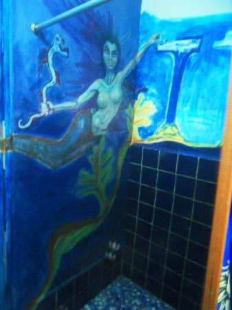 Hospedaje Ecologico Nahual: baño maracuya -art