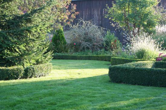 Hotel au Relais de l'Ill : une vue de notre beau jardin