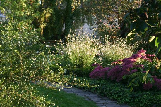 Hotel au Relais de l'Ill : vue de notre beau jardin