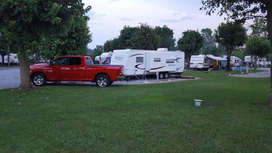River Plantation RV Resort: site