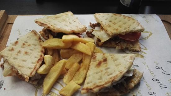 Spartan Greek Food Torino: Pita Club