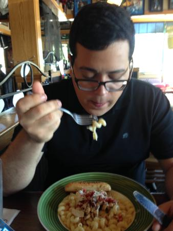 Applebee's: Prato que estava na promoção! Muito saboroso!