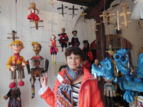 Czech Marionettes Museum : марионетки