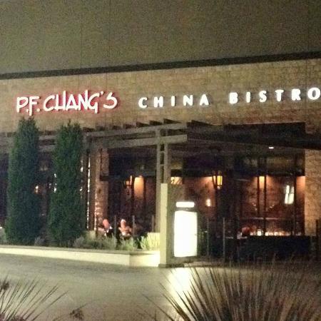 P F Chang S Exterior