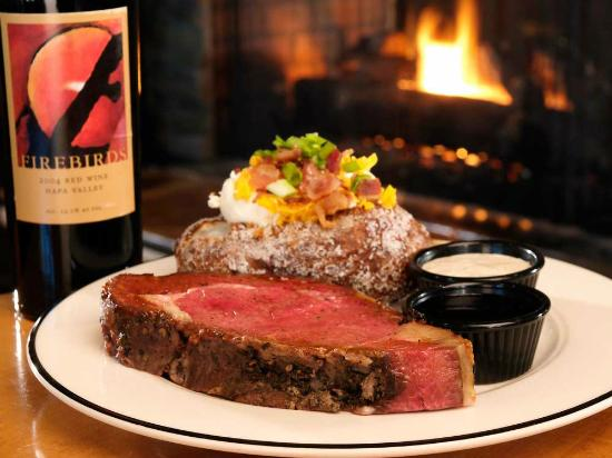 Firebirds Wood Fired Grill : Slow Roasted Prime Rib