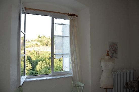 Vieille-Brioude, Francia: Vue depuis la chambre