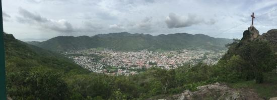 Panoramic view of Jinotega from the top.