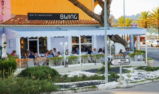 Swing Restaurante : Swing de afuera