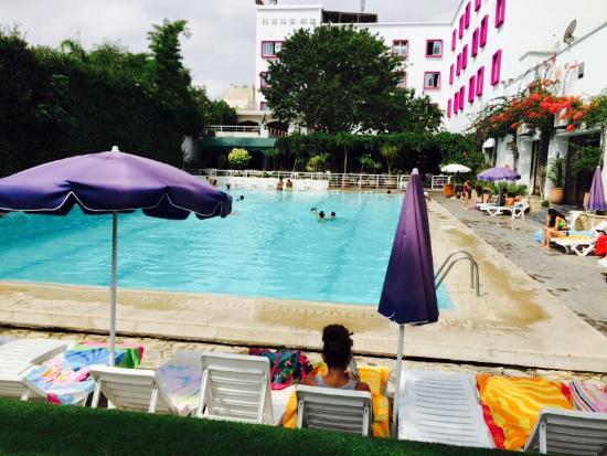 Plage de mehdia picture of kenitra hotel mamora kenitra for Construction piscine kenitra