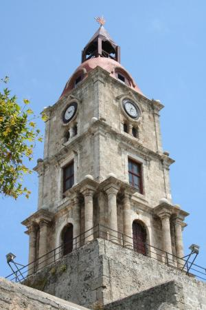 Roloi Clock Tower - Picture of Roloi Clock Tower, Rhodes ...