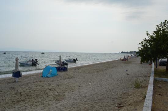 Polichrono Beach: Rainy Day July 2015 B