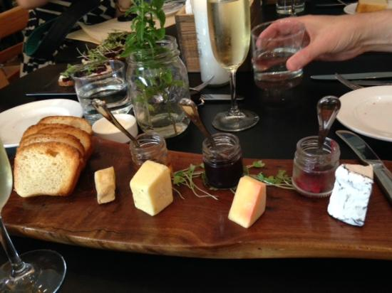 Market Table Bistro: Cheese Board appetizer