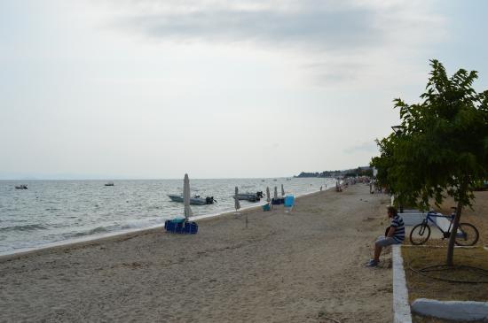 Polichrono Beach: Rainy Day July 2015 C