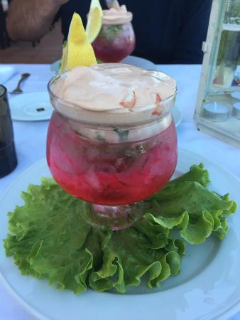 Restaurante Atlantico: Prawn cocktail. Delicious!