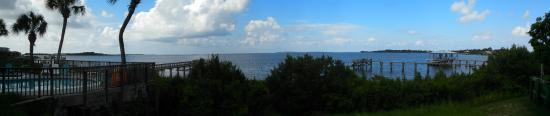 Cedar Keys National Wildlife Refuge: View of the Gulf