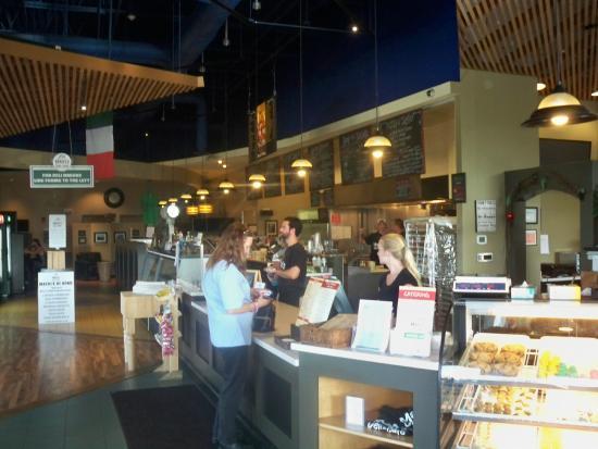Kitchen Area Picture Of Macri S Deli Amp Cafe Canandaigua