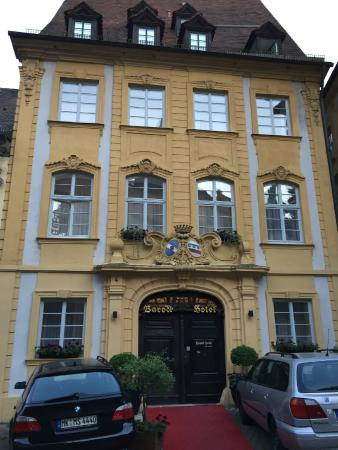 Barock Hotel am Dom: Front of hotel