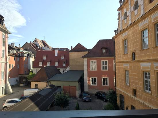 Barock Hotel am Dom: View from window of our room