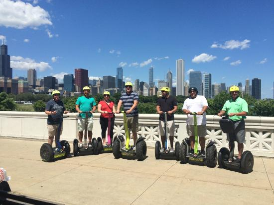 Chicago Segway Tour: Great day for a ride!