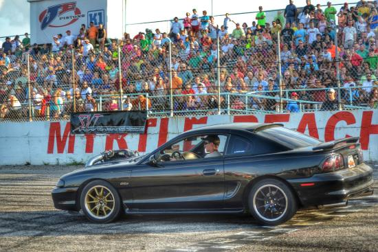 Mustang Week Track Day At Myrtle Beach Sdway