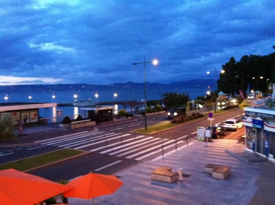 Alize Hotel : View from our room overlooking Lake Geneva