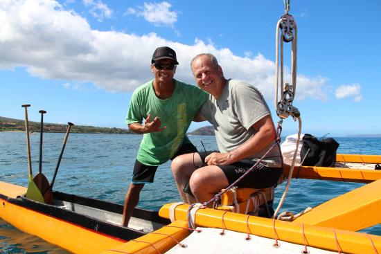Hawaiian Sailing Canoe Adventures: Our friend Don