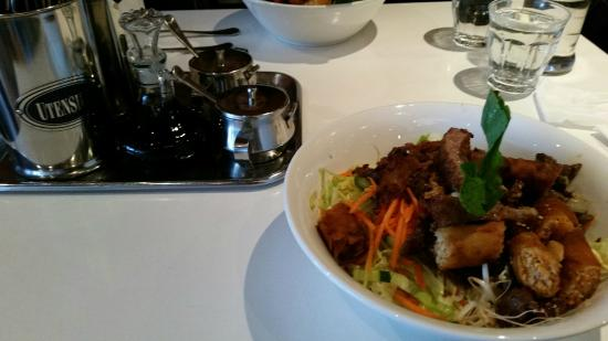 Mylan Restaurant: Quality Condiments + Combination Vermicilli Salad