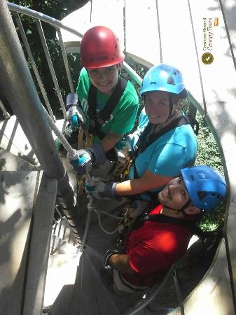 Common Ground Canopy Tours: 1st Zip-line Experience
