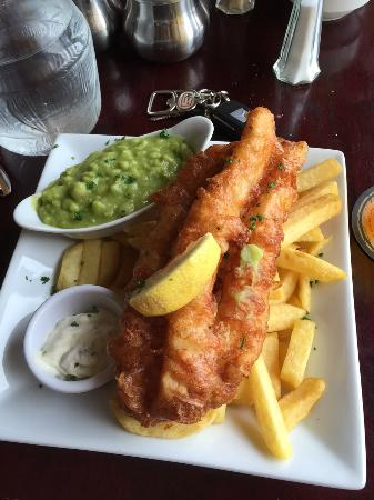 Dooagh, Ireland: Cod and Chips