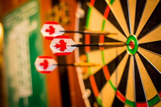 Kispiox, Canada: Darts