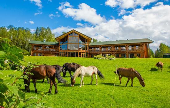 Kispiox, Canada: The lodge