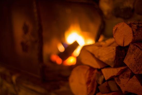 Kispiox, Canada: Warm fire