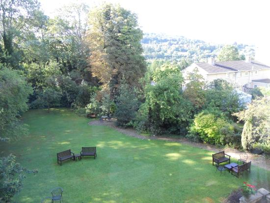 Bailbrook Lodge: View from our window