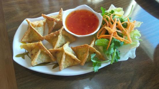 PHO Noodle & Kaboodle: Cripy star wonton