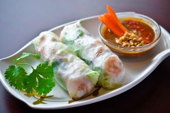 PHO Noodle & Kaboodle: Pork and Shrimp Spring Rolls