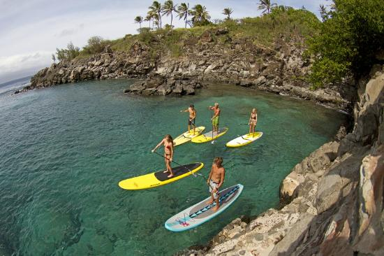 b59fcc4b0 Perfect for couples - Picture of Maui Stand Up Paddle Boarding ...