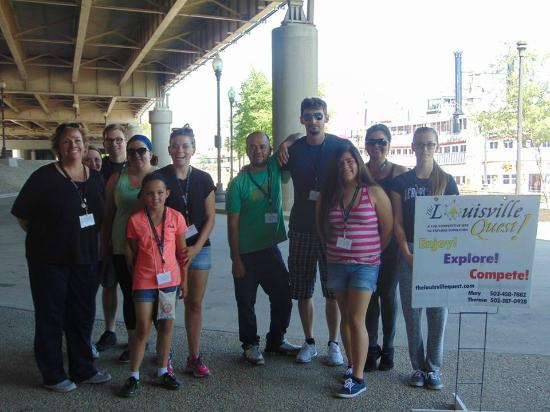 The Louisville Quest!: Our Original Quest starts at the historic Belle of Louisville wharf.