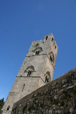 Funierice - Erice Cableway: La torre della Chiesa Matrice (si può salire)
