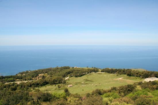 Funierice - Erice Cableway: Panorama