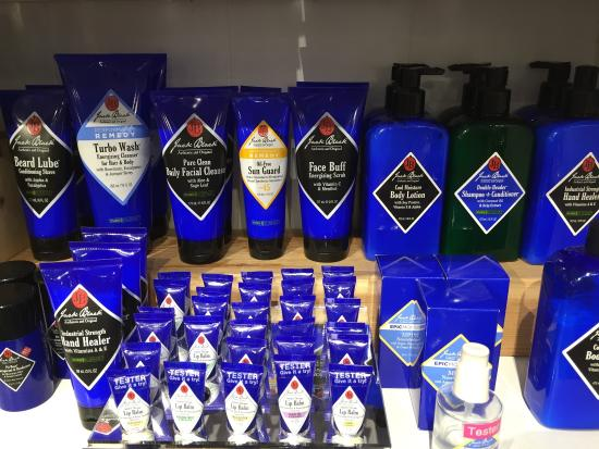 Have jake black mens facial products whom can