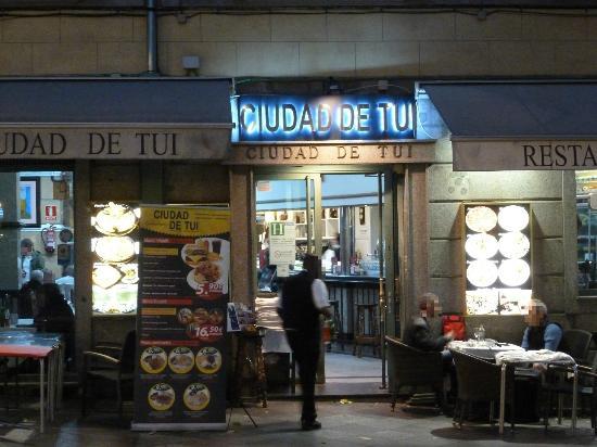 Ciudad de Tui: Restaurant