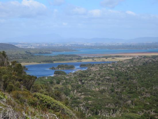 แทสมาเนีย, ออสเตรเลีย: Lagoon from the top of Archer's Knob