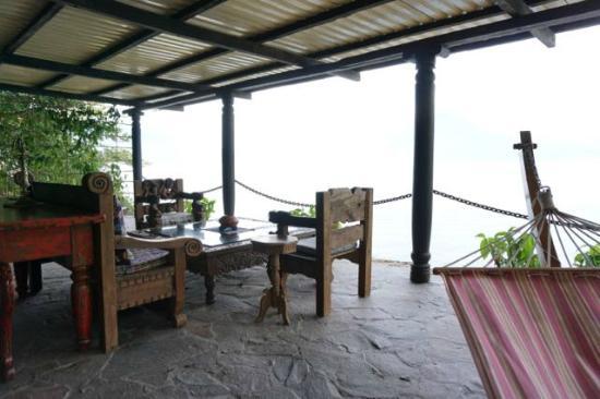 Laguna Lodge Eco-Resort & Nature Reserve: Top floor lounge