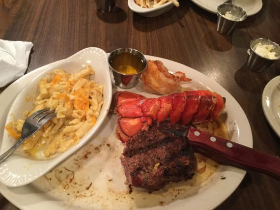 Davison, MI: Fillet and lobster