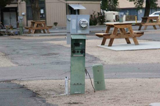 Highlands RV Park: Utilities were dated