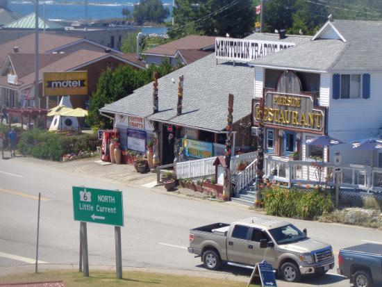 Pierside restaurant South Baymouth Ontario
