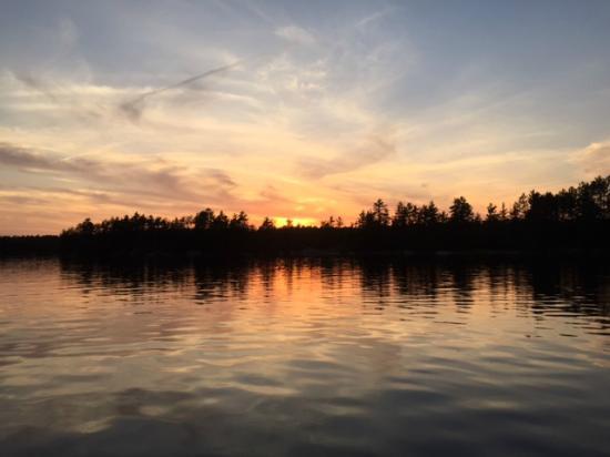 Port Loring, Canada: Auf dem See