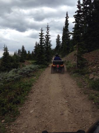 2 Mile Hi Ski-Doo: Beautiful ride in the mountains