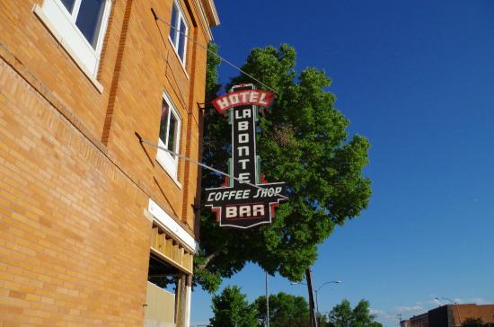 Hotel Labonte Outside Sign